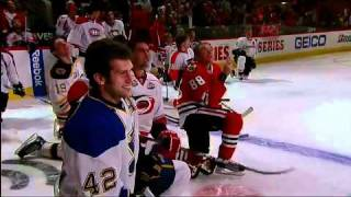 Chara and Weber face-off in hardest shot final