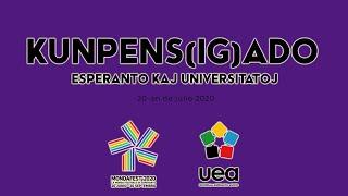 #mondafest2020 Kunpens(ig)ado: Esperanto kaj Universitatoj
