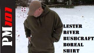 Lester River Bushcraft Boreal Shirt: Winter Proof!   - Preparedmind101