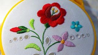 Hand Embroidery  HUNGARIAN  \ Венгерская Вышивка