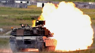 US Tanks Return to Europe for Live-Fire Training