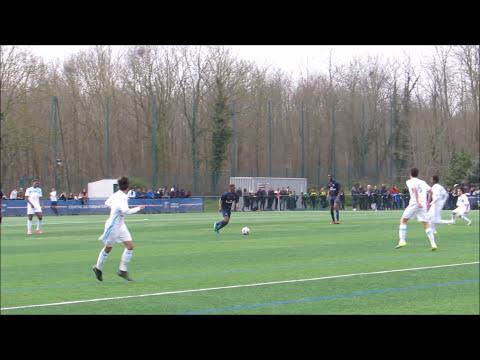 Actions & buts PSG 4-0 OM U15
