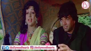 Hema Malini Dharamendra & Amitabh SHOLAY Movie Scene | non stop bagbag | Bollwood hearts