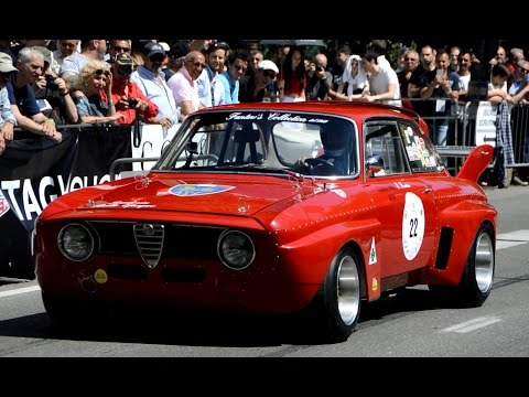 Best of Alfa Romeo race cars in action - Vernasca Silver Flag 2016