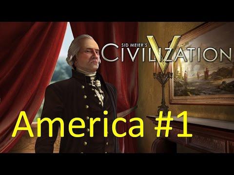 Civilization V : Gameplay - America #1 จุดเริ่มต้น [THAI/ไทย]