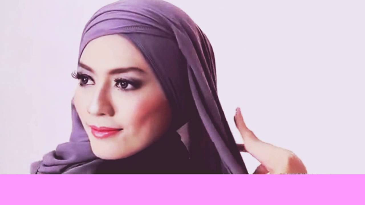 Tutorial Hijab Pashmina Satin Simple YouTube