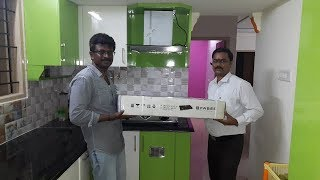 Green & White MR+ Finishing For Ramya Modular Kitchen,  Mr. Sathiskumar,  Pallikaranai,