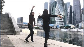 Девушка Очень Красиво Танцует С Парнем В Москве 2019 Лезгинка ALISHKA DARI (Москва Сити)