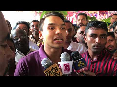 Namal Rajapaksa Calls For Immediate Dissolution of Parliament