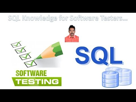 SQL Knowledge For Software Testers|Overview Of SQL|G C Reddy|