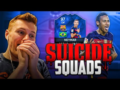 FIFA 16 - INSANE 97 TOTY NEYMAR SUICIDE SQUADS!!! | THE BEST PLAYER ON FIFA???