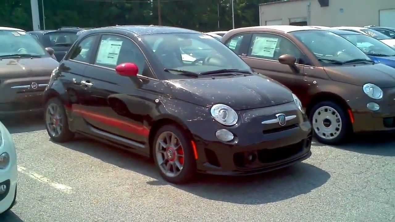 For Sale: Nero 2012 Fiat 500 Abarth Twin-Intercooled Hot Hatchback