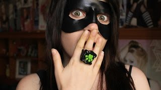 Video COSPLAY TUTORIAL:Chat noir- mask and ring (ENG SUBS) download MP3, 3GP, MP4, WEBM, AVI, FLV Juli 2018