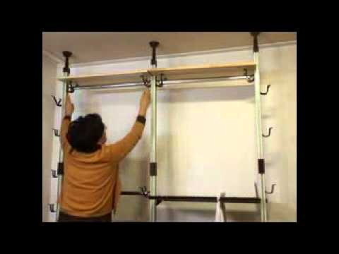 Diy Multifunction Garment Rack Bajirack Youtube