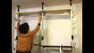 Diy Multifunction Garment Rack-bajirack