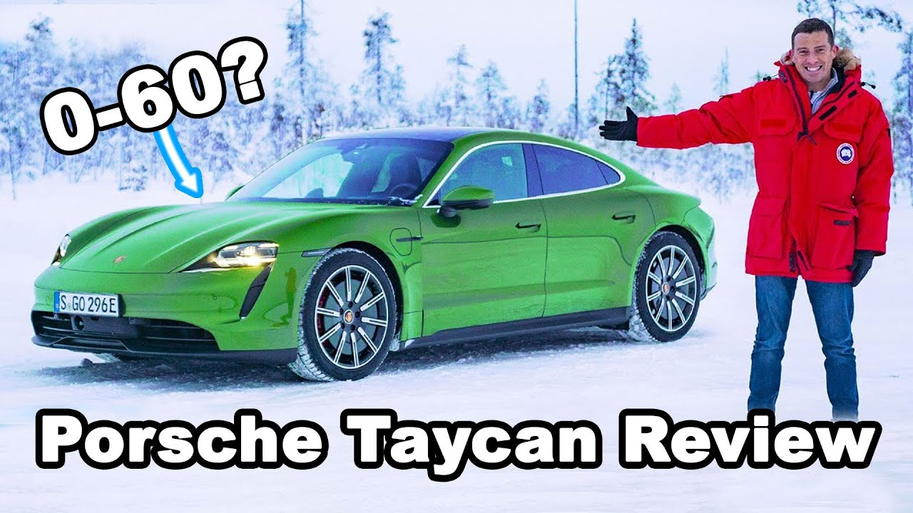 Porsche Taycan 4s Turbo S Review Launched Snow Drifted Range And Toilet Tested Youtube