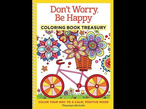 Dont Worry Be Happy Coloring Book Slideshow Thaneeya McArdle