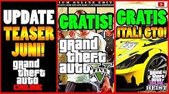 🙌Alle Neuen Inhalte!🙌 Update Teaser! GTA 5 Gratis! ITALI GTO Gratis + Mehr! GTA Online Casino Heist