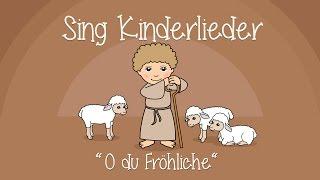 O du Fröhliche - Weihnachtslieder zum Mitsingen | Sing Kinderlieder