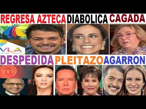 ANETTE MICHEL bye PATI CHAPOY FERNANDO DEL SOLAR INGRID CORONADO  PAULINA MERCADO  SANDRA ECHEVERRIA