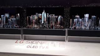 LG's Hidden Rolling OLED TV R Debut at CES 2019