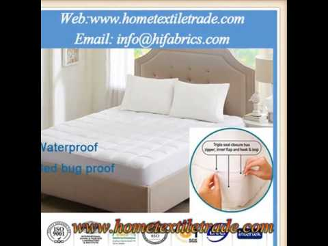 Anti Dust Mite Anti Allergy Mattress Protector With High Quality