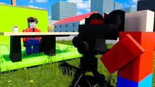We Got Lego Jobs at The News Station to Create Fake News in Brick Rigs Multiplayer Gameplay