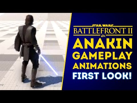 Anakin Skywalker GAMEPLAY ANIMATIONS FIRST LOOK! - Star Wars Battlefront 2 thumbnail
