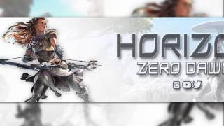 HORIZON ZERO DAWN BANNER TEMPLATE || [LINK IN DESC] By JarryS