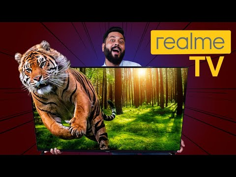 """realme TV 43"""" Unboxing & First Impressions ⚡⚡⚡ Certified Android TV, 24W Speakers & More"""