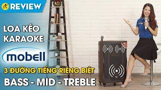 Loa kéo karaoke Mobell: 1000W, 3 đường tiếng, chất âm cực hay (K1507) • Điện máy Xanh