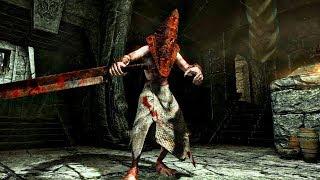 Skyrim mod: Хэллоуин в Скайриме - Пирамидоголовый