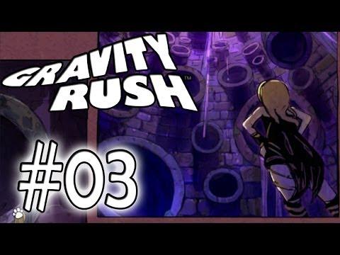 Gravity Rush Let's Play #03 | Zuhause ist da wo der Kühlschrank steht | [PSVita] [Deutsch]