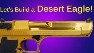 How to Make a Cardboard Desert Eagle Pistol