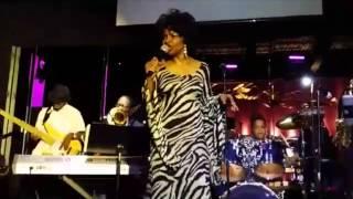 Cynthia Scott Chanting@ A Work of Art Jazz Festival in Little Rock, Arkansas July 30, 2015