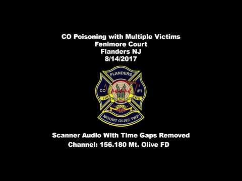 Flanders, Mt Olive Township NJ Carbon Monoxide Incident w/ Multiple Victims