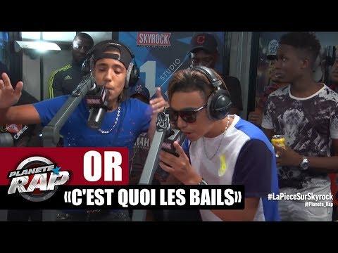"""[EXCLU]OR """"C'est quoi les bails"""" en live dans Planète Rap"""