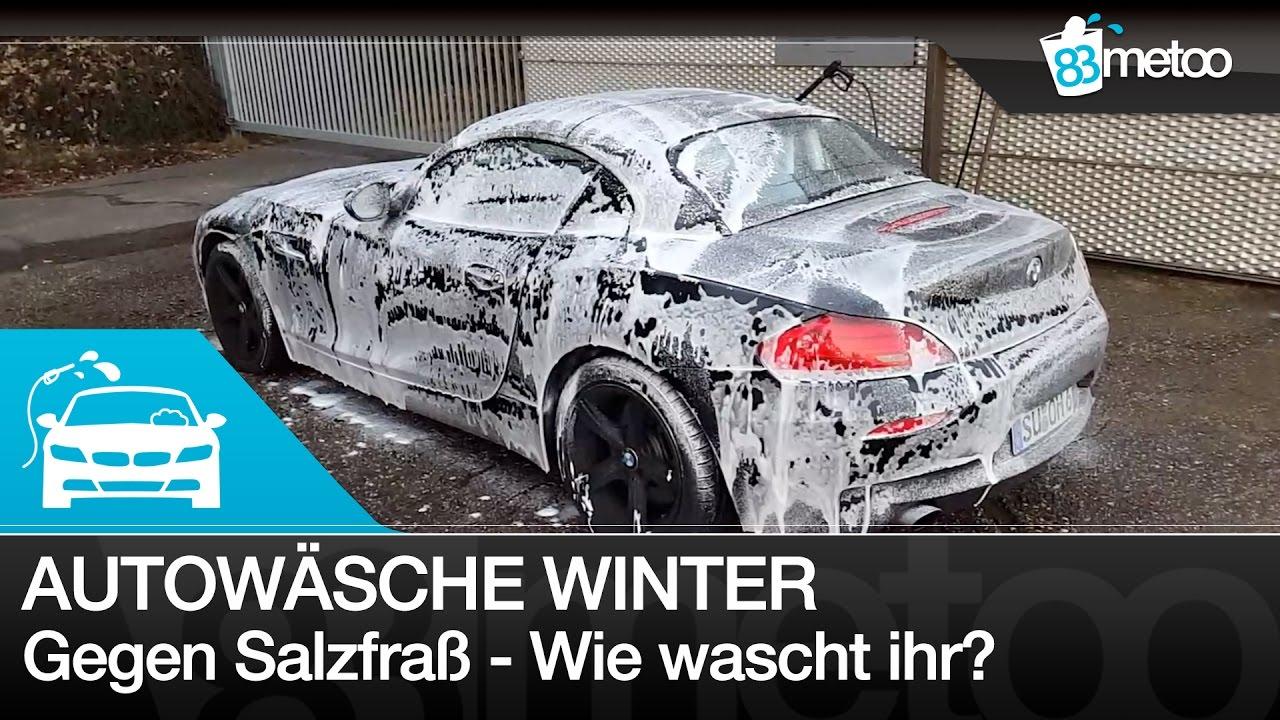 autopflege im winter