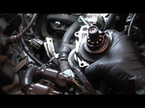 Honda Accord Starter Replacement - YouTube