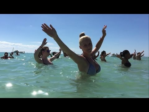 Riu Yucatan Mexico - Beach Dance Workout