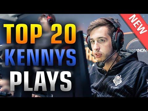 Top 20 kennyS Plays 2017 ★ CS:GO
