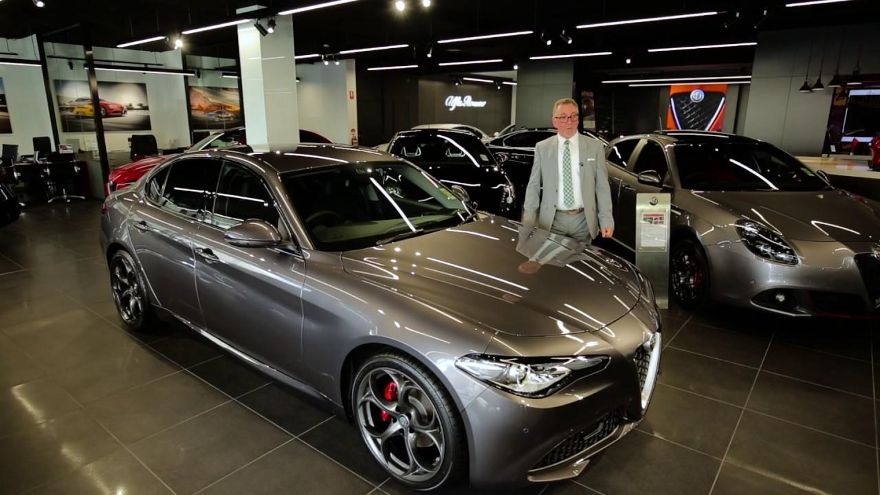 Zagame Alfa Romeo Richmond review the Giulia. - YouTube