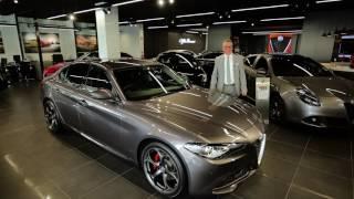 Zagame Alfa Romeo Richmond review the Giulia.