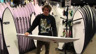 Fun surfboards for small waves