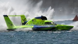 3,000 HP 200 MPH Boats with Helicopter Engines | Detroit Hydrofest