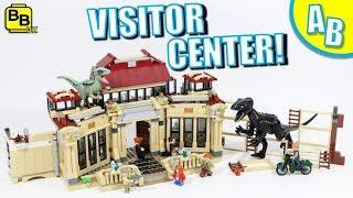 Baixar LEGO JURASSIC PARK VISITOR CENTER 75930 ALTERNATIVE BUILD!
