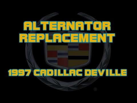 ⭐ 1997 Cadillac Deville – How To Replace The Alternator