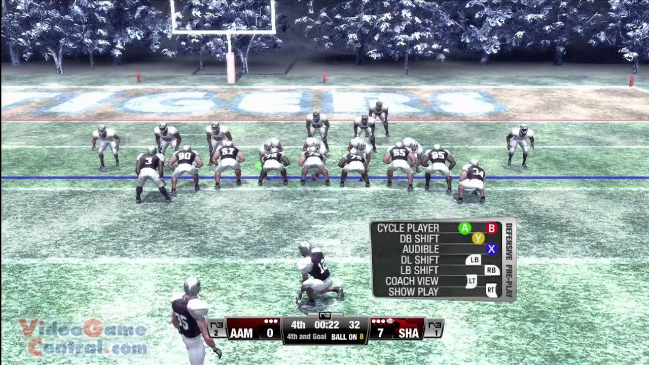 hd black college football xperience xbox 360 gameplay review