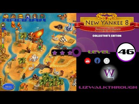New Yankee 8 - Level 46 Walkthrough (Journey of Odysseus)  