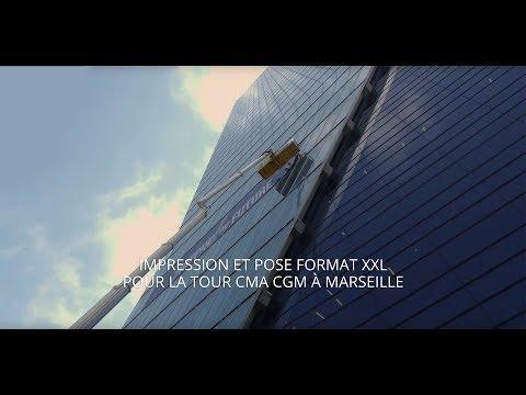 OXY SIGNALETIQUE - Tour CMA CGM - Marseille
